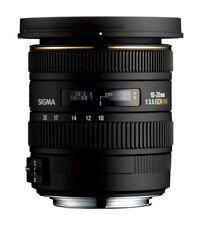 Sigma Zoom Camera Lenses 10-20mm Focal