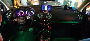 64 color Illuminated Retrofit LED ambient light For Audi A3 S3 RS3 8V 2019-2020