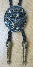 Bolotie Western Westernkrawatte Adler Concho American Pride Eagle