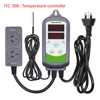 Inkbird Heat Cool Temp. humidity Controller Thermostat Logger Wine Cigar Storage