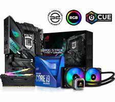 Pcspecialist Intel Core I9-10850K CPU + Rog STRIX Z490-F Motherboard Combo 16GB RAM RGB Cooler Bundle