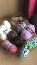 knitting wool bundle