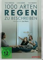 BJARNE MÄDEL - 1000 ARTEN REGEN ZU BESCHREIBEN-BIBIANA BEGLAU,B.MÄDEL   DVD NEUF