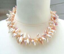 Collar de joyería blanca