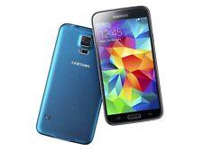 "Original Samsung Galaxy S5 SM-G900A Unlocked MOBILE  5.1"" SMARTPHONE16GB Blue"
