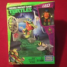 Mega Bloks Teenage Mutant Ninja Turtles Leo Pizza Fury TMNT 51 Pieces NEW MIP