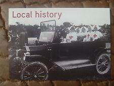 PROMO / ADVERTISING CARD..NURSES IN FORD MODEL T c1916..TEA TREE GULLY HISTORY