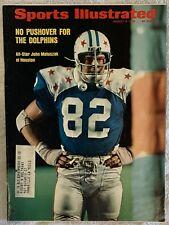 8.6.73 JOHN MATUSZAK Sports Illustrated - HOUSTON OILERS - Vintage Print Ads