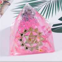 Pyramid Resin Jewelry Making Mould Epoxy Pendant Craft DIY Silicone Mold Tool S