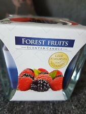 Forest Fruits Glass Scented Tri-colour Candle
