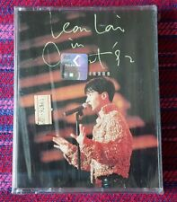 Leon Lai ( 黎明 ) ~ Leon Lai Live In Concert 92 ( Malaysia Press ) Cassette
