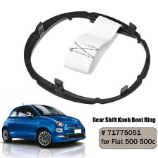 Bague Cadre Support Fixation Pommeau Levier Vitesse 71775051 pour Fiat 500 500c