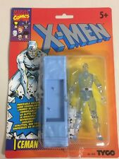 """rare ICEMAN 4"""" action figure from X MEN animated series TYCO new sealed 1993"""