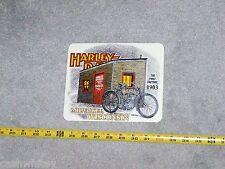 Large HARLEY DAVIDSON Vintage FIRST FACTORY Shop Motorcycle Bike Decal Sticker