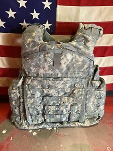 ARMY ACU DIGITAL  PLATE CARRIER MADE WITH KEVLAR INSERTS MEDIUM LONG GEN 2