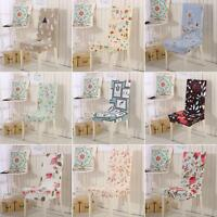 EG_ Removable Elastic Stretch Slipcover Short Dining Room Chair Seat Cover Decor