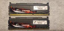 G.SKILL Sniper 8GB(2x4GB) 240-Pin DDR3-1600 SDRAM PC3-12800 (F3-12800CL9D-8GBSR)