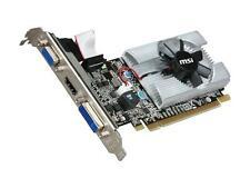 MSI GeForce 210 DirectX 10.1 N210-MD1G/D3 1GB 64-Bit DDR3 PCI Express 2.0 x16 HD