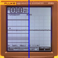 Fluke 123, 124, 125 Scopemeter LCD Display Line Repair Service