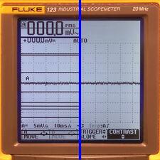 Fluke 123, 124, 125 Scopemeter LCD Display Line Repair