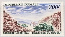 MALI 1967 140 C41 Black Cruise 1924 Land Cruisers in Hoggar Mountain Pass MNH