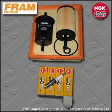 KIT di servizio PEUGEOT 206 1.1 8V FRAM Olio Aria Carburante FILTRI TAPPI (2000-2003)