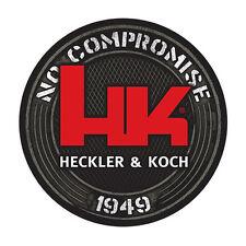 """HK Black Decal 1949, Heckler & Koch """"No Compromise"""" HK416 MR556 MR762 P30 USP"""