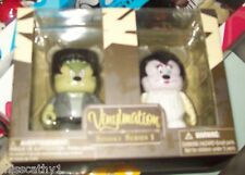 Vinylmation Disney Exclusive Spooky Series 1 Set Frankenstein & Bride
