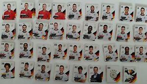 Rewe DFB EM 2020 2021 Fußball Karten Auswahl Glitzer + Normale