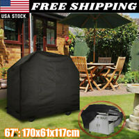 """BBQ Gas Grill Cover 67"""" Barbecue Waterproof Outdoor Heavy Duty Protection Newest"""