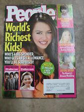 People Magazine May 5 2008 08 5 Miley Cyrus Suri Cruise Lindsay Lohan Ashley!