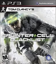 Tom Clancy's Splinter Cell Blacklist - Playstation 3 PS3 - New sealed