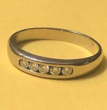James Avery 18kt White Palladium Gold DEBRA Diamond Ring Size 8