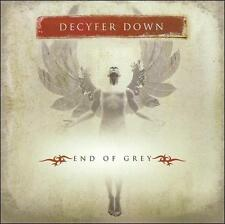 End of Grey by Decyfer Down (CD, 2005, SRE) New Sealed