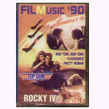 """COLONNE SONORE """" FILMUSIC '90 """" MC MUSICASSETTA  SIGILLATA  K7"""