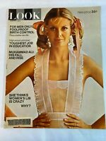 Look Magazine Vintage March 9,1971 For Men Only: Foolproof Birth Control...