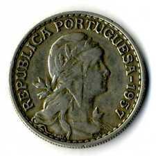 Moneda Republica Portuguesa 1957 1 escudo coin