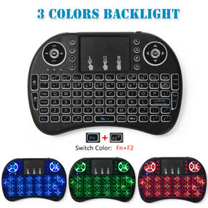 Air Mouse for TV Box PC Colorful Wireless Keyboard Mini Touchpad 2.4Ghz USB Host