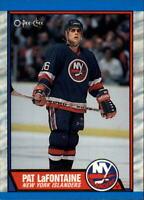 Pat LaFontaine New York Islanders 1989-90 O-Pee-Chee 31 Card Lot