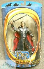 ARAGORN ARMOR LORD OF RINGS ACTION FIGURE FIGURINE RETURN OF THE KING TOY TOYBIZ