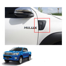 Side Vent Simulator Matte Black 2 Pc Fit Toyota Hilux Revo SR5 Hi-Lift 2015 - 17