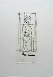 Carlo Marcantonio - Etching Original Of '59, p. d. A.Signed