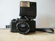 Pentax Auto 110 camera with 2,8/50 Lens Flash and Winder in original Pentax Case