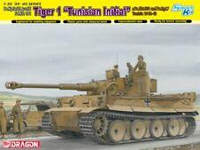 """Dragon 6608 1/35 Tiger 1 Ausf.E """"Tunisian Initial"""" w/DS & Magic Tracks"""