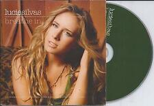 LUCIE SILVAS - Breathe in CD SINGLE 2TR EU CARDSLEEVE 2005 RARE!!