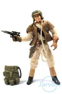 Star Wars Saga Collection TSC 046 White Endor Rebel Trooper Loose Complete
