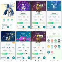 Pokémon Account Go Level 40 | 234 Legendary(Rare)| 113 Shiny(Rare)| 12,4*(Rare)