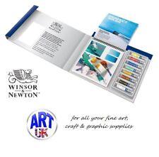 COTMAN Watercolour Artists TIPS & TECHNIQUES Set - 8ml Paint Tubes, Paper, Brush