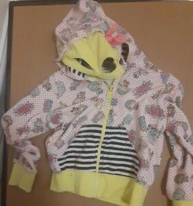 Gwen Stefani Harajuku Mini Hooded Jacket Girls 3T