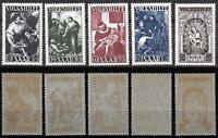1949 - SARRE - NEUFS - Série Complète - 263/267** - Yvert.C/130.00.eur - TTB/MNH